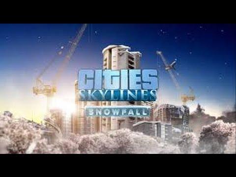 Cities Skylines: Snowfall #01 - Строим город на северном полюсе!