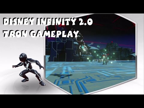 Disney Infinity 2.0 Tron Gameplay Sam & Quorra Gameplay Livestream