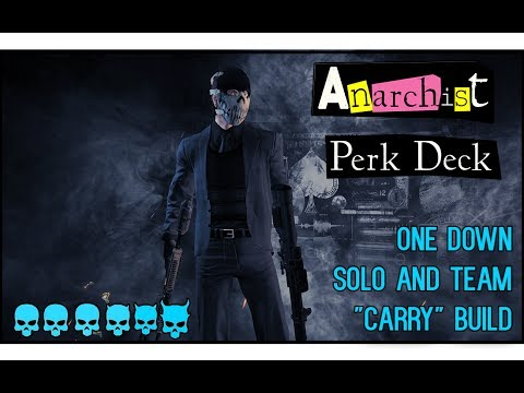 payday 2 anarchist carry build and gameplay counterfeit. Black Bedroom Furniture Sets. Home Design Ideas