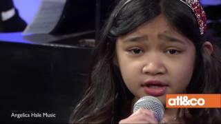 "Angelica Hale Sings ""Ave Maria"" on Atlanta & Company"