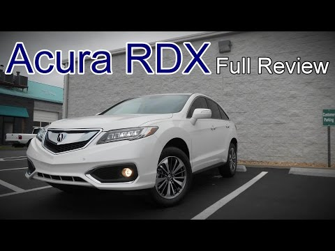 2017 Acura RDX: Full Review | AcuraWatch, Technology & Advance