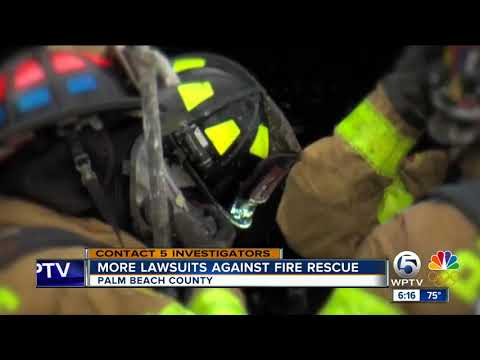 More lawsuit against Palm Beach County Fire Rescue