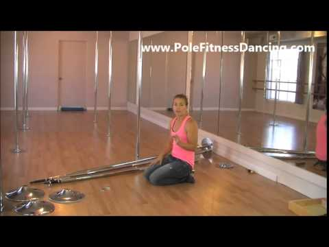 How To Buy SAFE Removable Portable Spinning Dancing Poles For Home Review