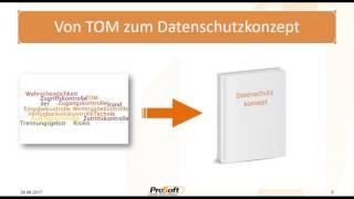 EU-Datenschutz konkret - Teil 2 - Datenschutzkonzept