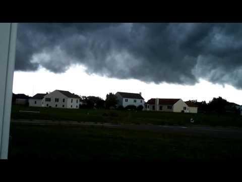 Strange Weather Front:  McHenry County, Illinois