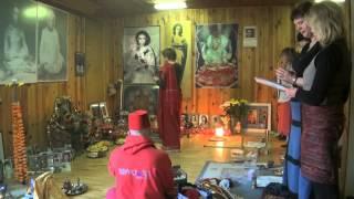 Navaratri Pudza Babadzi centra 23.03 2012 (pt. 2).