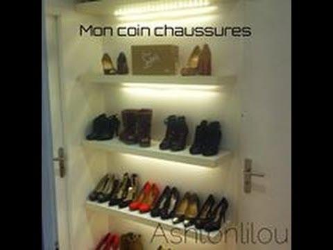 Rangement mon coin chaussures youtube - Ikea rangement chaussures dressing ...