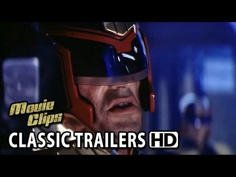 Random Movie Pick - Judge Dredd (1995) Old Classic Movie Trailer YouTube Trailer