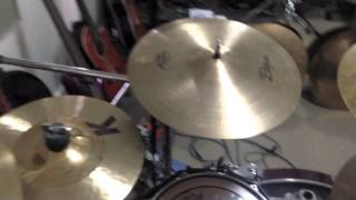 The Ultimate ZIldjian Crash Cymbal Comparison Video - 25 Different Crash Cymbals