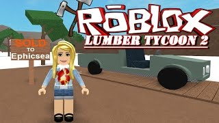 ⚒ terrain et voiture🚗 Lumbertycoon-ROBLOX Moments RYE😜