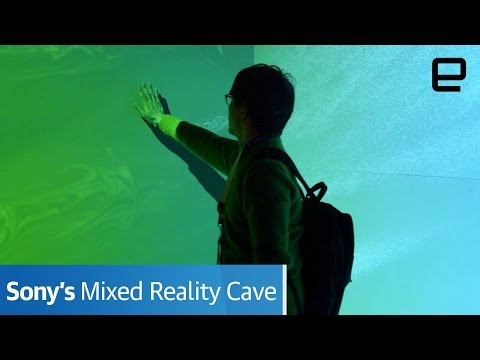 Sony Mixed Reality Cave | Hands-On | SXSW 2017