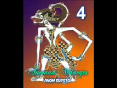 Wayang Kulit Dalang Kondang Anom Suroto Lakon ~ ANOMAN MANEGES Part 48