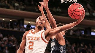 Texas vs. Georgetown Men's Basketball Highlights