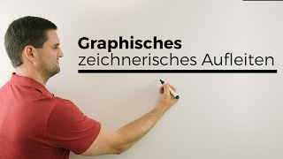 Graphisches, zeichnerisches Aufleiten, Graph der Stammfunktion | Mathe by Daniel Jung