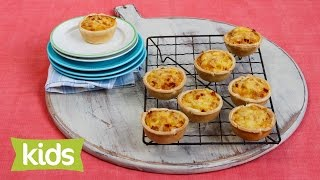 Quick Quiche Recipe With Sweetcorn, Bacon & Cheese