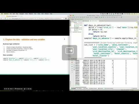 Customer Segmentation In Python - PyConSG 2016