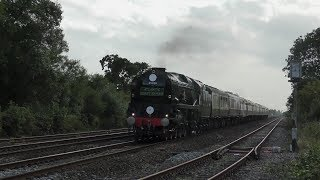 35028 Clan Line recreates the amazing and famous 'ACE' Atlantic Coast Express - 10th August 2019