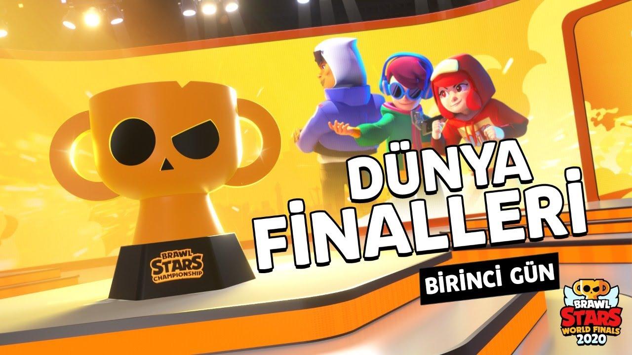 Brawl Stars Dünya Şampiyonası Finalleri 1. Gün