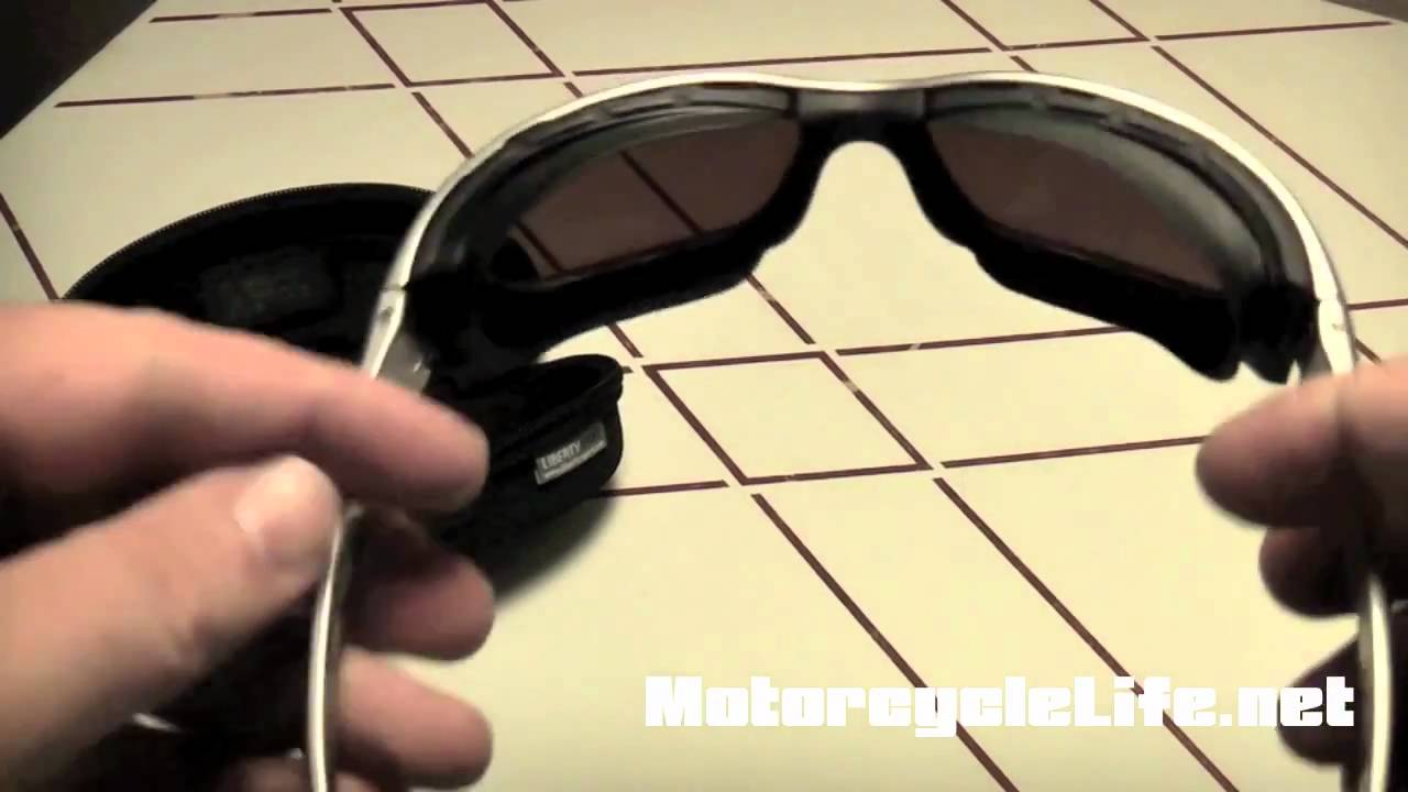 3d6a22f2e3 Liberty Sport Rider Motorcycle Sunglasses Review - YouTube