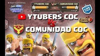 EVENTO ESPECIAL: YOUTUBERS VS. COMUNIDAD COC. Clash of Clans
