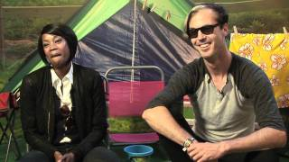 Fitz and the Tantrums interview - Michael Fitzpatrick and Noelle Scaggs (part 1)