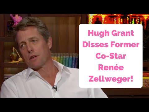 Hugh Grant Disses Former Co-Star Renée Zellweger!