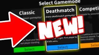 NEW ASSASSIN GAMEMODE!! (Roblox Assassin Deathmatch)