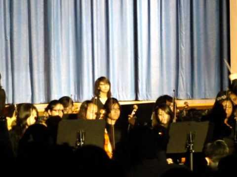 Aquinas High School's Evening of Music and Dance 2011 - Serenade by Jim Brickman