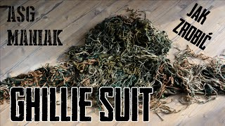 ASG Maniak #30 Ghillie Suit / Viper Hood - JAK ZROBIĆ? Poradnik.
