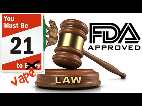 New California Regulation & FDA Regulations
