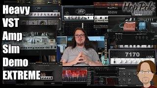 Heavy Virtual Amp Comparison EXTREME - 15 VST Amps plus 2 real amps!