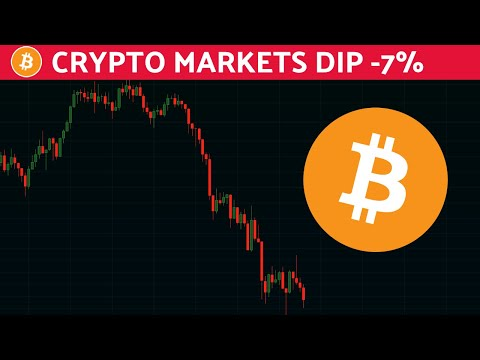 Crypto Dips 7% | Here's What You Need To Know