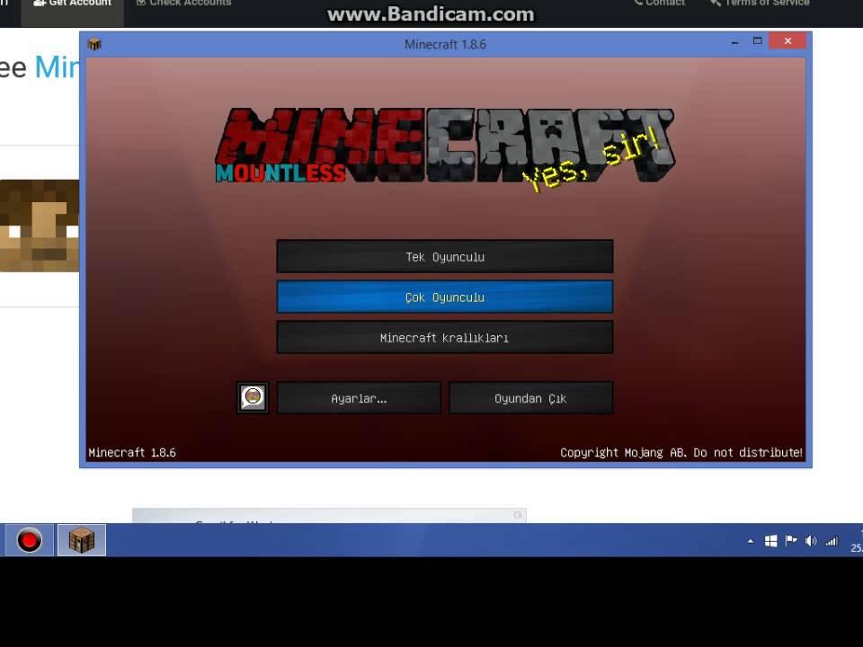 Minecraft Bedava Premium Hesap Veren Site 2020