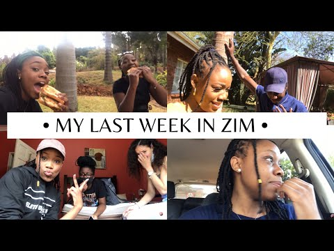 VLOG| MY LAST WEEK IN ZIM🇿🇼 + Covid-19 Test + Nails + Chicken Inn