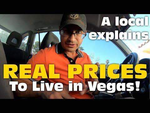 Living In Las Vegas - REAL Cost Of Rent, Utilities And Food In Vegas!