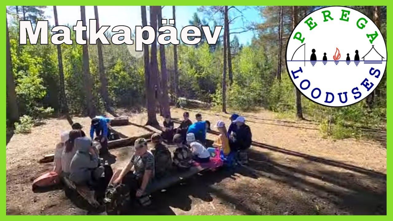 """Lastelaager """"Meil on elu keset metsa"""" päev 1"""