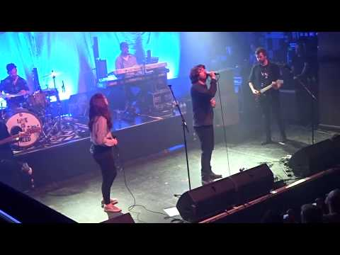 Embrace with Nicole Hope Smith from Eevah - Never (5.04.2018, O2 Institute, Birmingham)