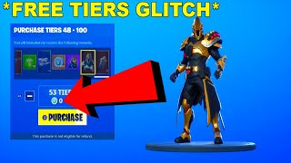 *TIERS GLITCH* Fortnite How To Get 100 TIERS For FREE in Season 10! (SEASON X)