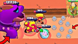 900 IQ *TRAP* in Brawl Stars! Wins & Fails #176