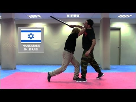 KRAV MAGA IFF : Basic Stick Defence