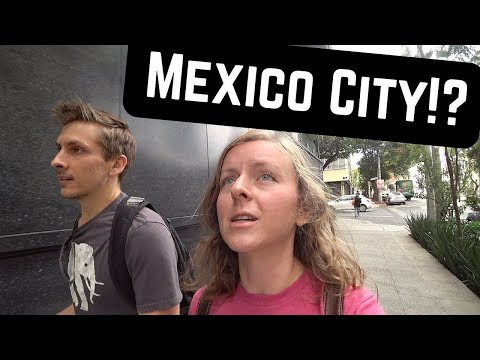 Our first time in MEXICO CITY - This Place is INSANE!!