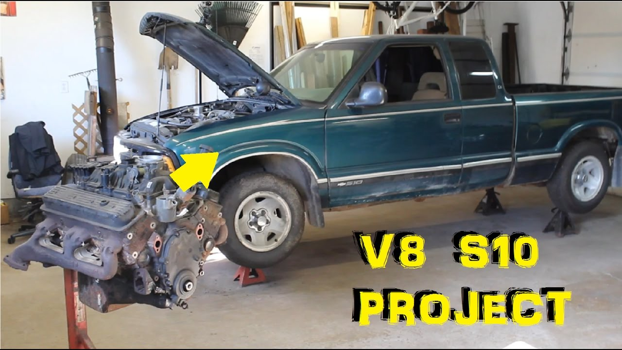 V8 S10 Engine Swap Project - Part 1 - Intro