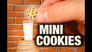MINI CHOCOLATE CHIP COOKIES!