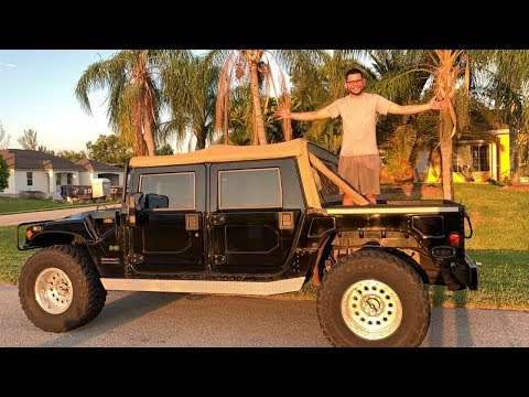 The best, The beast. 2001 H1 Hummer Review