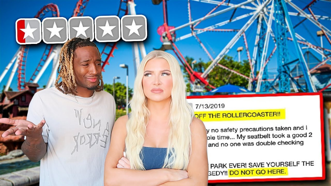 Going to the WORST REVIEWED Amusement Park in my City! **bad idea**
