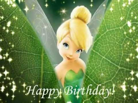happy birthday tinkerbell Happy Birthday, TinkerBell Style! #1   YouTube happy birthday tinkerbell