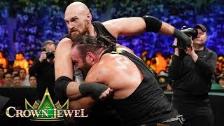 Braun Strowman battles Tyson Fury in earth-shattering match: WWE Crown Jewel 2019 (WWE Network)