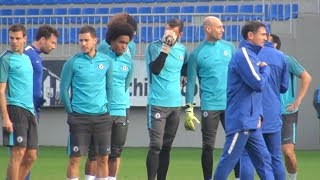Chelsea Train Ahead Of Champions League Clash With Qarabag