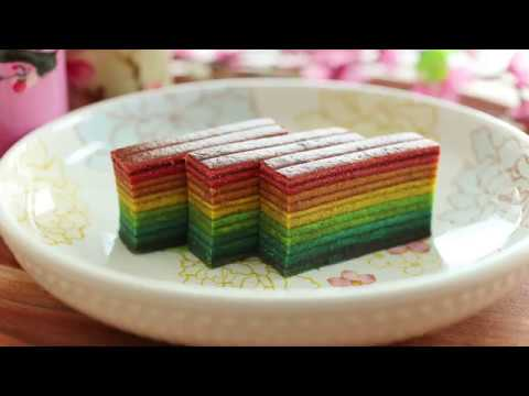 Indonesian Layer Cake Recipe Youtube