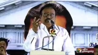 Prachara Medai: DMDK-PWF-TMC alliance's chief ministerial candidate Vijayakanth
